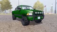 Dodge Ram 2500 Club Cab forest for Farming Simulator 2013