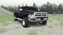 Dodge Ram 3500 Club Cab 1994 for Spin Tires