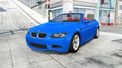 BMW M3 cabrio (E93) 2008 for BeamNG Drive