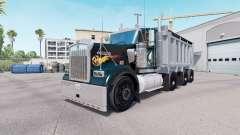 Kenworth W900 dump truck v1.1 for American Truck Simulator