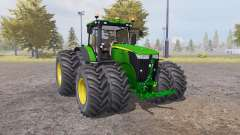 John Deere 7310R v2.1 for Farming Simulator 2013