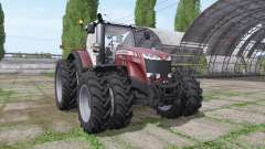 Massey Ferguson 8727 v3.0.3 for Farming Simulator 2017