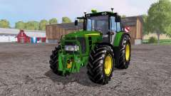 John Deere 6930 Premium front loader for Farming Simulator 2015
