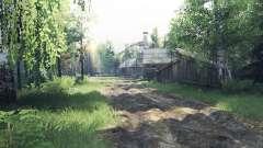 Village Ryabkovo v1.1 for Spin Tires