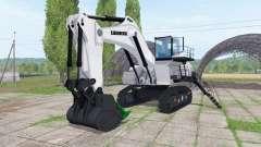 Liebherr R 9200 backhoe attachment v1.1 for Farming Simulator 2017