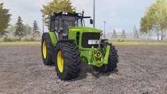 John Deere 7530 Premium v3.1 for Farming Simulator 2013