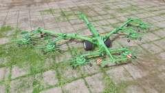 Krone Swadro 2000 multicolor for Farming Simulator 2017