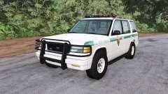 Gavril Roamer U.S. Park Ranger for BeamNG Drive