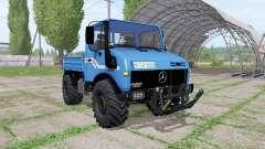 Mercedes-Benz Unimog U1600 v1.3 for Farming Simulator 2017