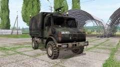 Mercedes-Benz Unimog U1300L bundeswehr for Farming Simulator 2017