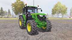 John Deere 6150M v2.0 for Farming Simulator 2013