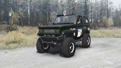 Toyota Land Cruiser 70 (BJ71V) 1984 expedition for MudRunner