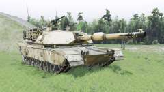 M1A1 Abrams for Spin Tires