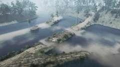 Zaton - Area of the former tank farm for MudRunner