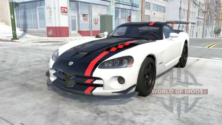 Dodge Viper SRT10 ACR 2010 for BeamNG Drive