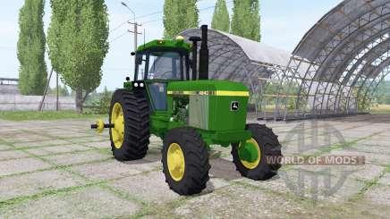 John Deere 4640 v1.1 for Farming Simulator 2017