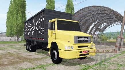 Mercedes-Benz L 1620 6x2 cattle transport for Farming Simulator 2017