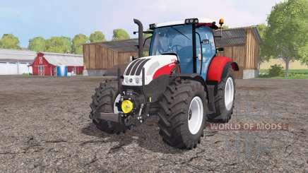 Steyr Profi 4130 CVT front loader for Farming Simulator 2015