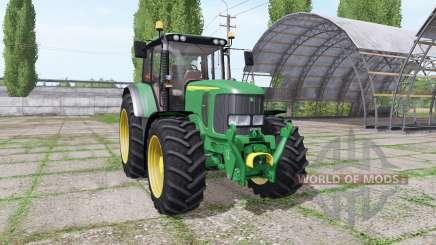John Deere 6920S v2.0 for Farming Simulator 2017
