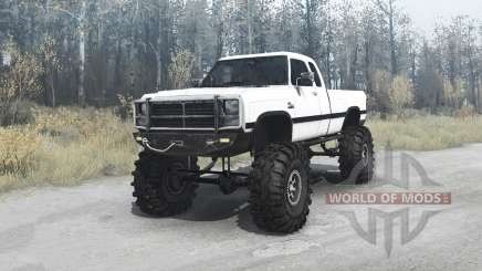 Dodge Power Ram (W250) 1991 for MudRunner