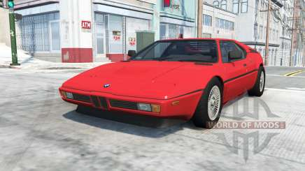 BMW M1 (E26) 1978 for BeamNG Drive