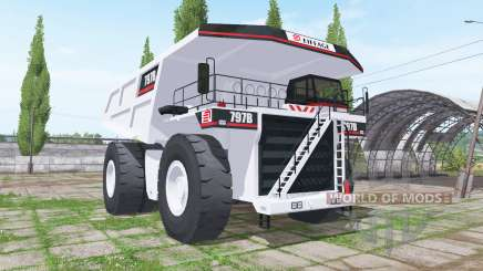 Caterpillar 797B for Farming Simulator 2017