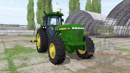 John Deere 4560 v1.3 for Farming Simulator 2017