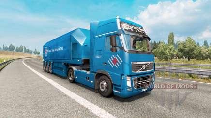 Painted truck traffic pack v3.4 for Euro Truck Simulator 2