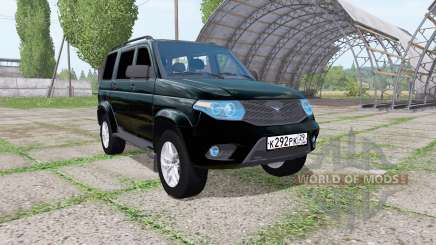 UAZ 3163 Patriot 2014 for Farming Simulator 2017