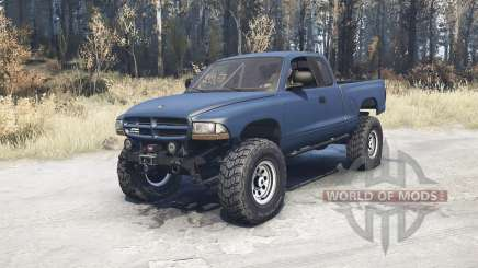 Dodge Dakota Club Cab 1997 v1.1 for MudRunner