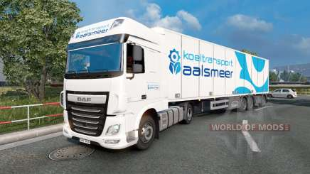 Painted truck traffic pack v3.9 for Euro Truck Simulator 2