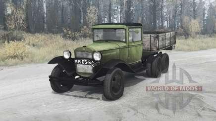 GAZ AAA 1934 for MudRunner