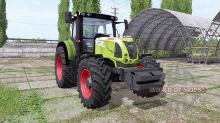 CLAAS Arion 640 v1.1 for Farming Simulator 2017