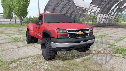 Chevrolet Silverado Regular Cab duramax 2004 for Farming Simulator 2017