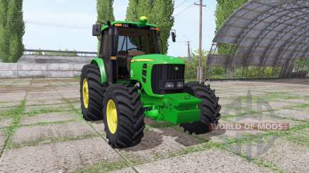 John Deere 6180J for Farming Simulator 2017