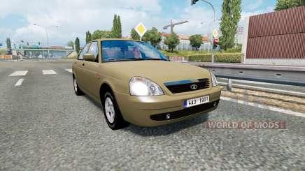 Russian traffic pack v1.8 for Euro Truck Simulator 2