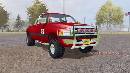 Dodge Ram 3500 Club Cab mobile tank for Farming Simulator 2013