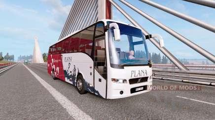 Bus traffic v2.3 for Euro Truck Simulator 2