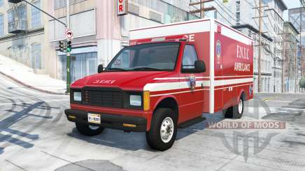 Gavril H-Series F.N.Y.C ambulance for BeamNG Drive
