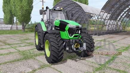 Deutz-Fahr Agrotron 9340 TTV green design v1.1 for Farming Simulator 2017
