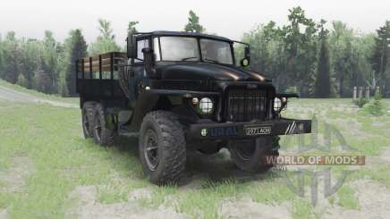 Ural 375 for Spin Tires