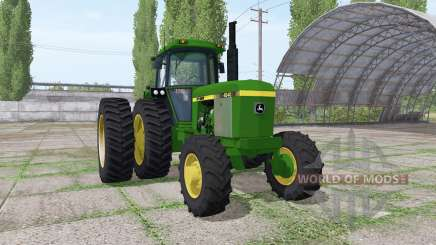 John Deere 4240 v3.0 for Farming Simulator 2017