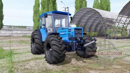 Hurlimann H-488 big wheels for Farming Simulator 2017