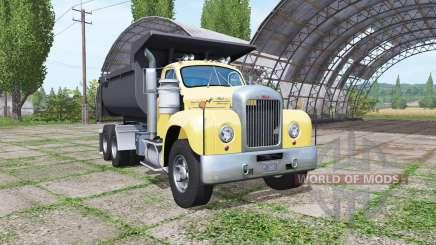 Mack B61 dump truck for Farming Simulator 2017