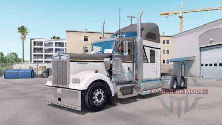 Skin Master Gray on the truck Kenworth W900 for American Truck Simulator