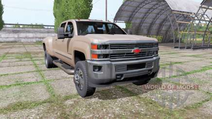 Chevrolet Silverado 3500 HD Crew Cab 2016 for Farming Simulator 2017