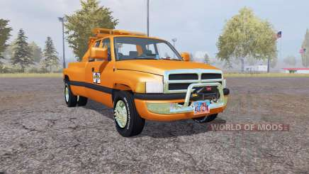 Dodge Ram 3500 Club Cab wrecker for Farming Simulator 2013