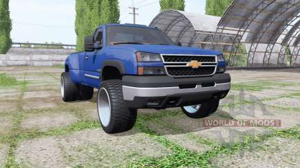 Chevrolet Silverado Regular Cab duramax v1.1 for Farming Simulator 2017