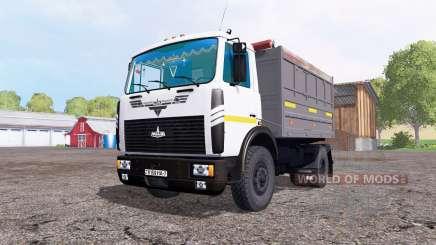MAZ 5551 v3.0 for Farming Simulator 2015