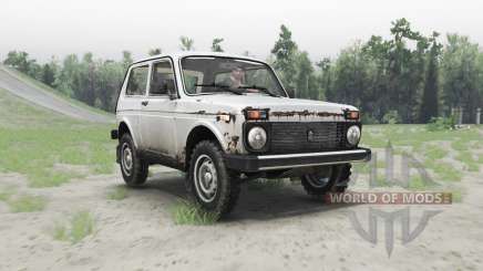 VAZ 2121 Niva for Spin Tires